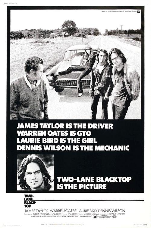 Two-Lane Blacktop (1971) 📽