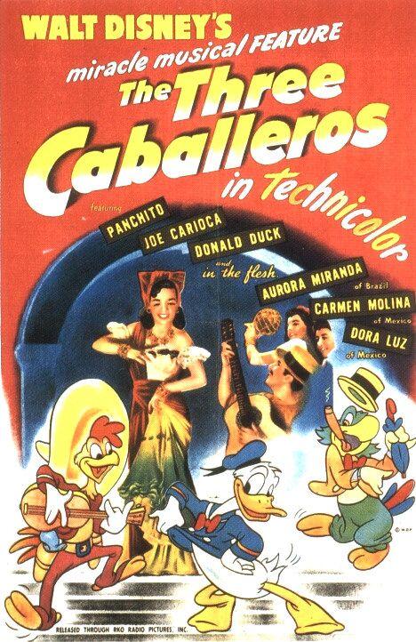 The Three Caballeros (1944) 📽