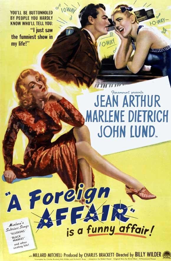 A Foreign Affair (1948) 🌟