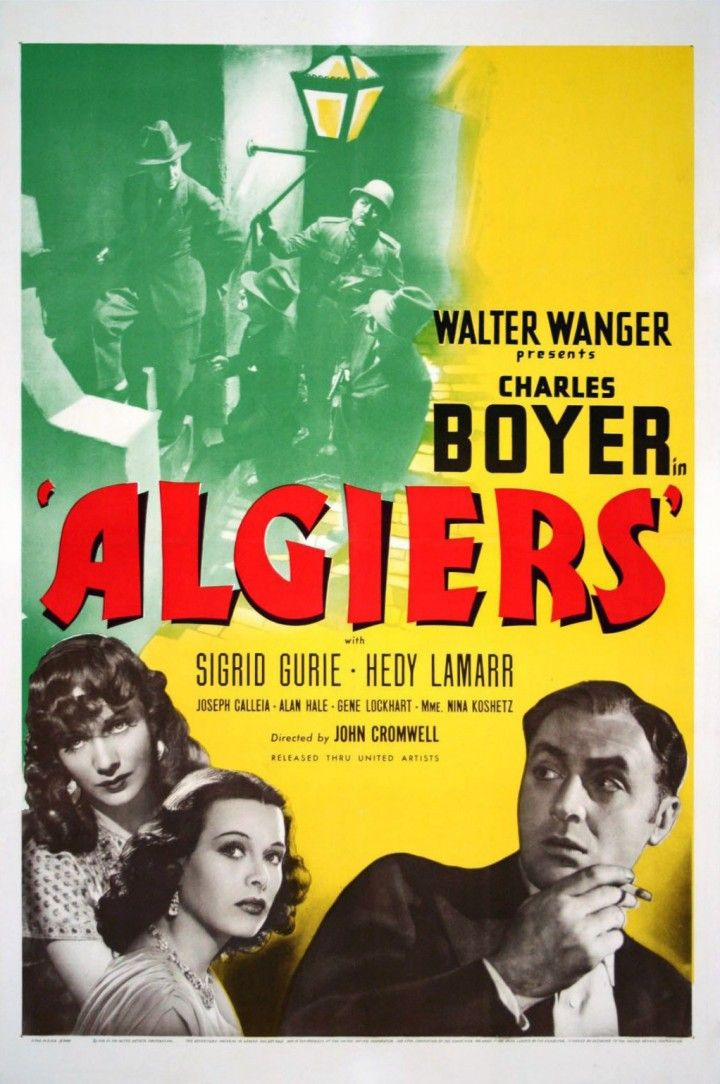 Algiers (1938) 🌟