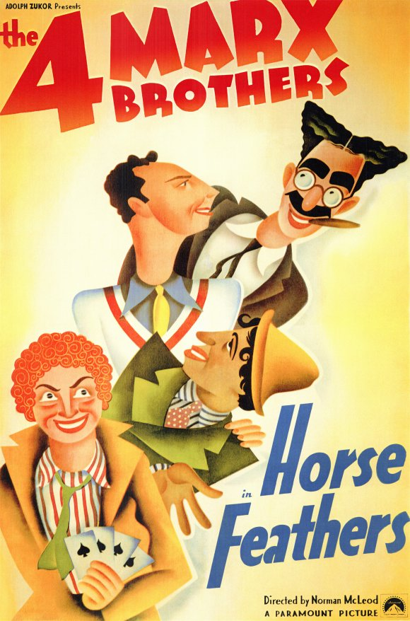 Horse Feathers (1932) 📽