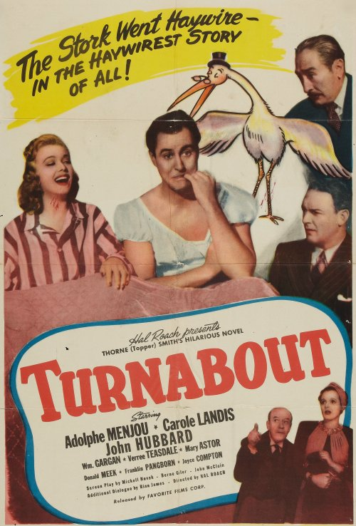 Turnabout (1940) 🌟
