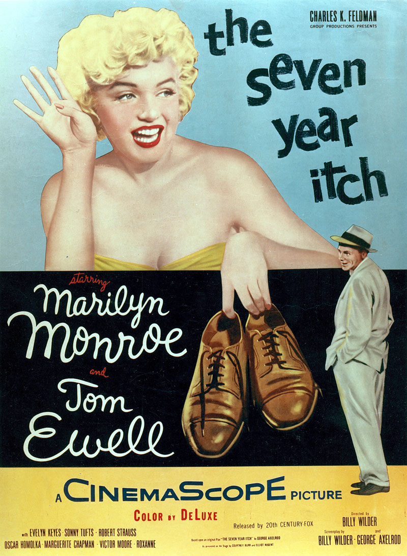 The Seven Year Itch (1955) 📽