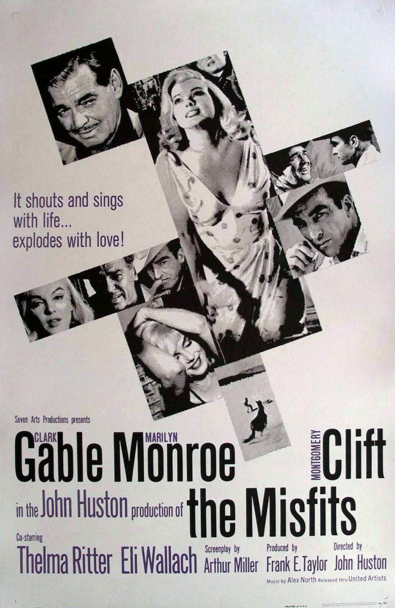 The Misfits (1961) 📽  🌟