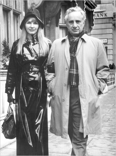 Barbara Loden and Elia Kazan, 1969