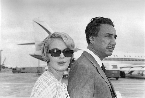 Jean Seberg and Romain Gary, 1960's