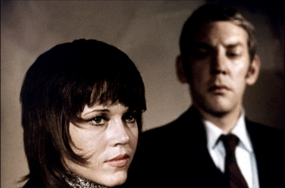 Jane Fonda and Donald Sutherland,  Klute , 1971