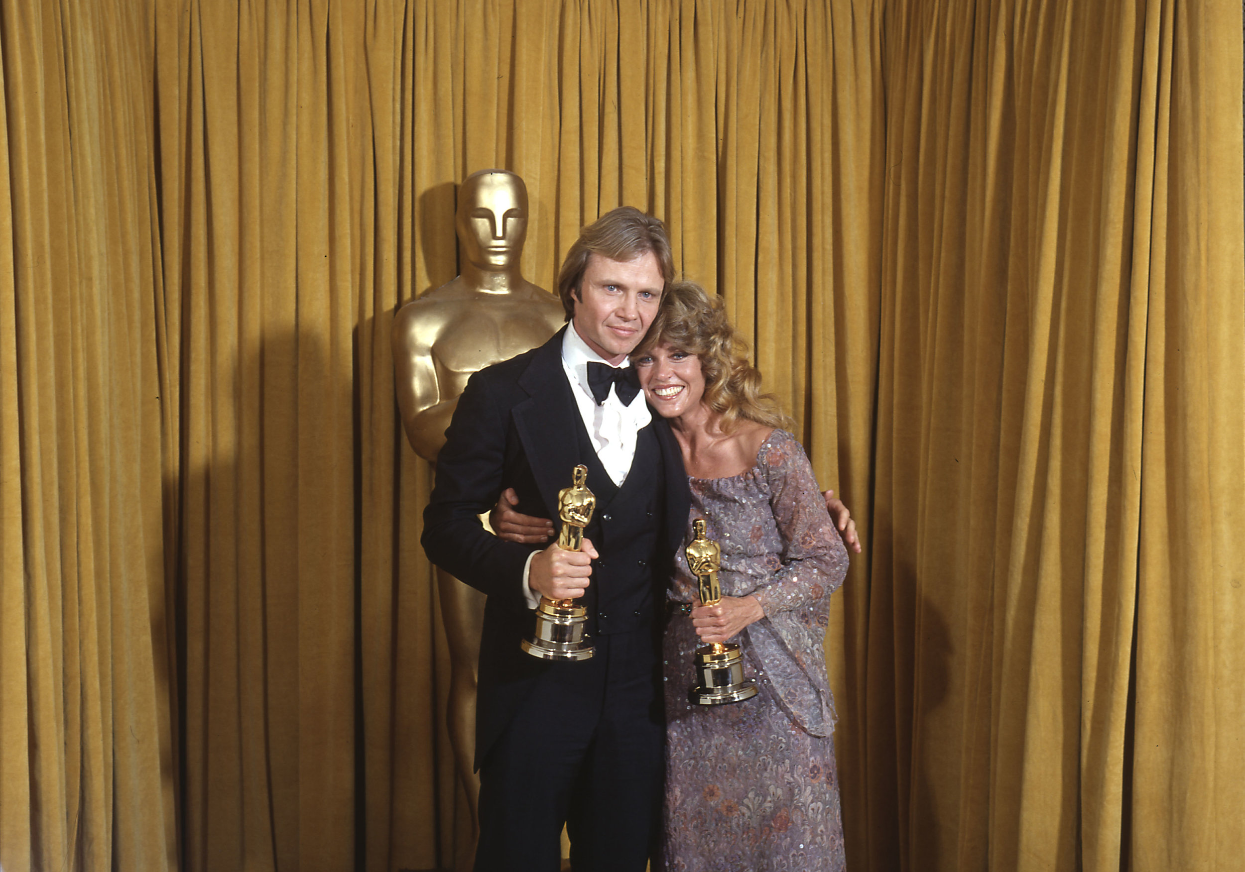 Jon Voight and Jane Fonda at the Academy Awards, 1979