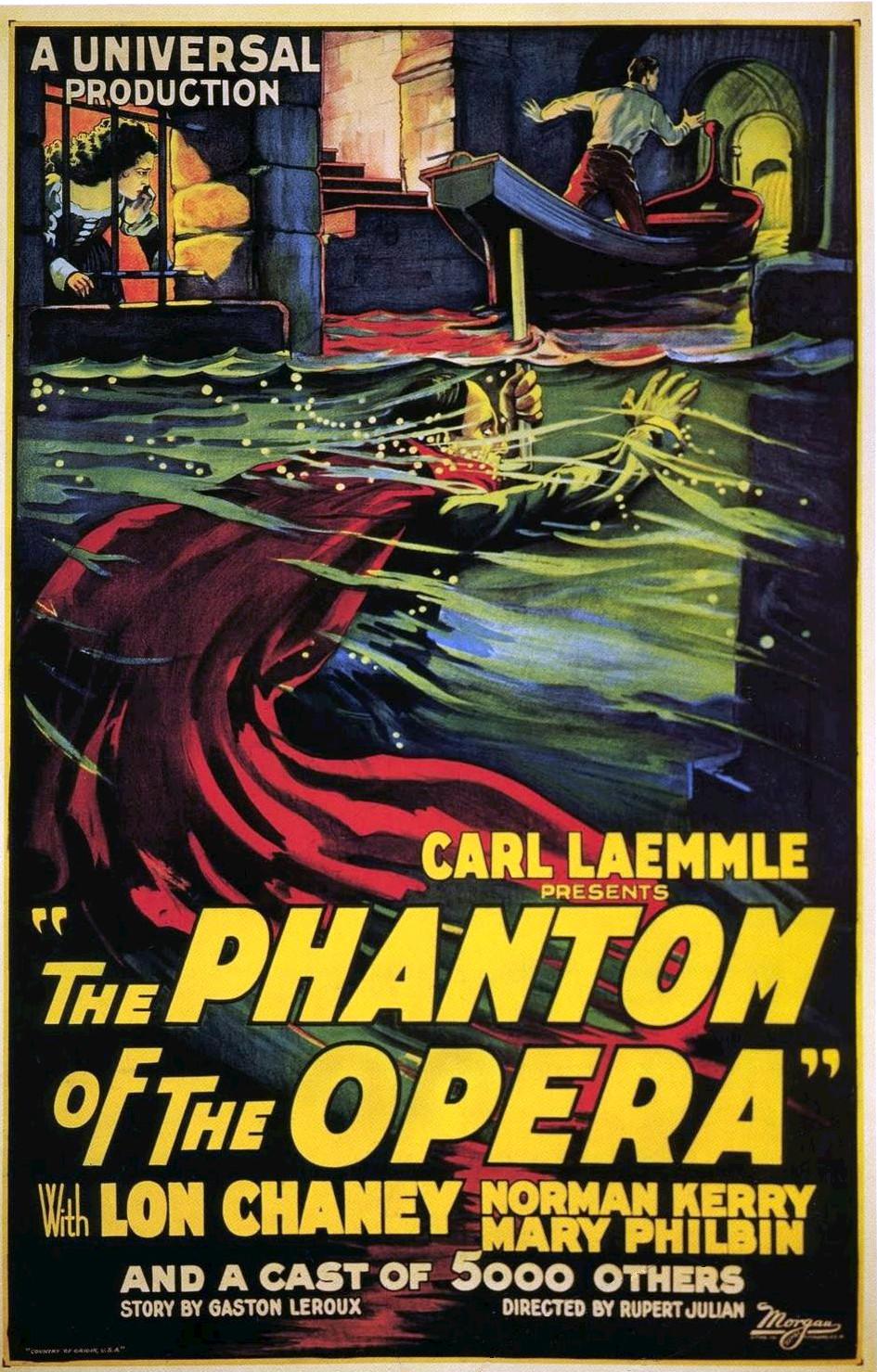 The Phantom of the Opera (1925) 📽