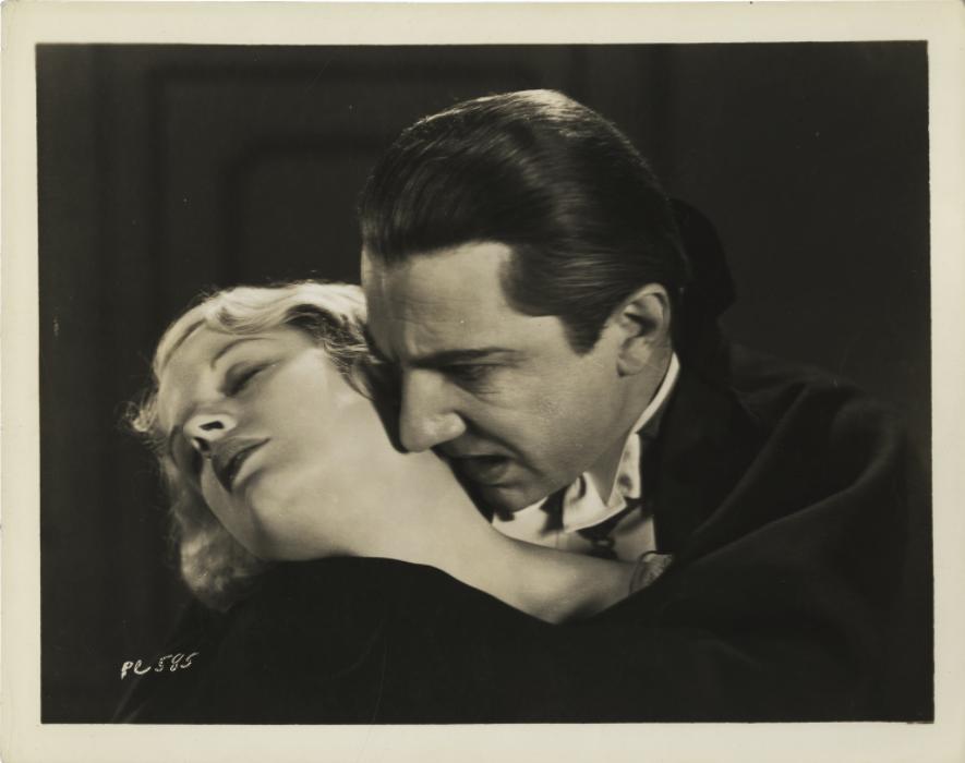 Helen Chandler and Bela Lugosi, Dracula , 1931