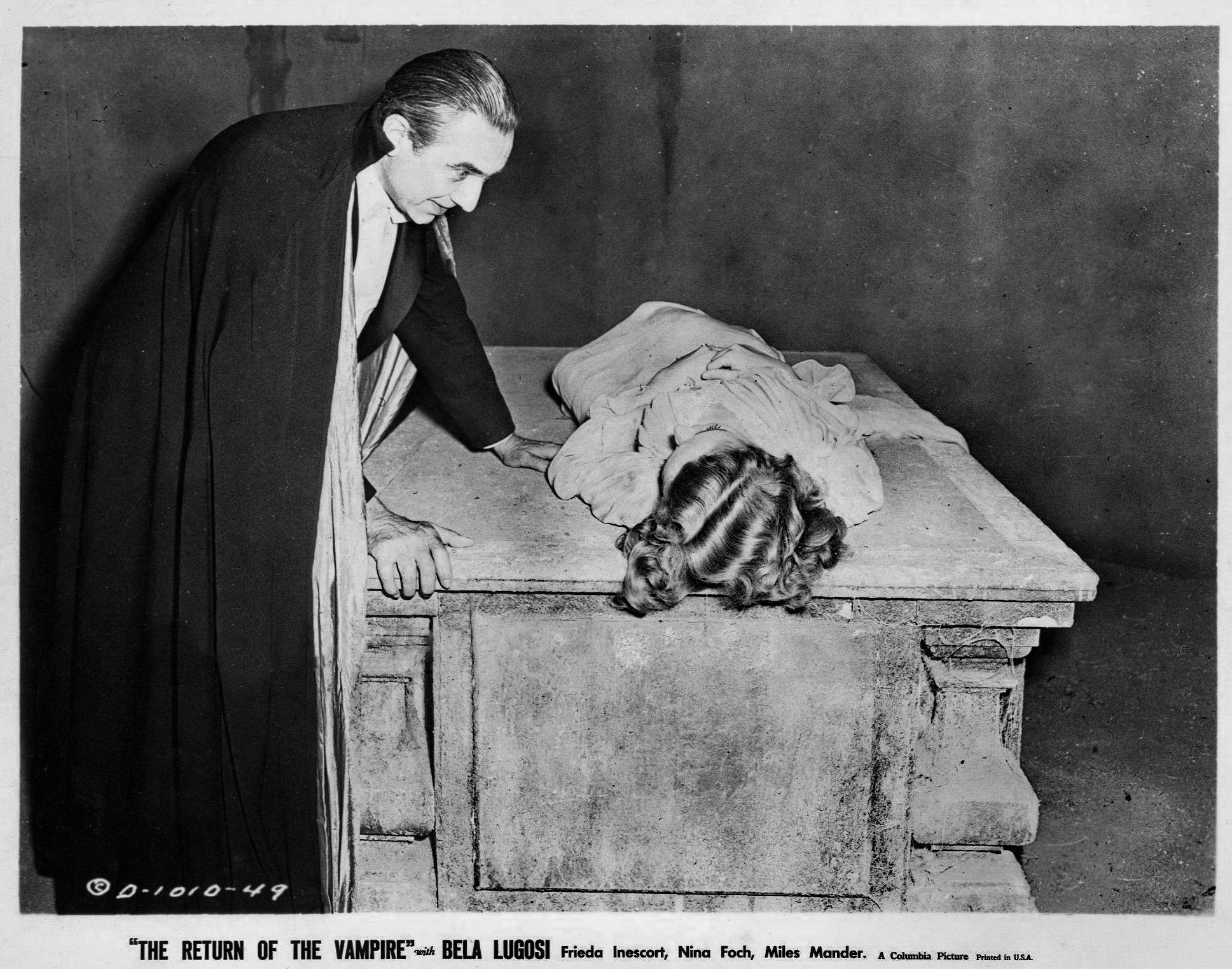 Bela Lugosi,  Return of the Vampire , 1943