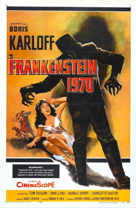Frankenstein 1970 (1958) 📖