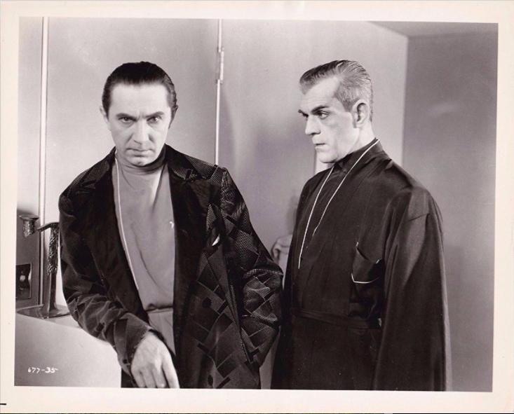 Bela Lugosi and Boris Karloff,  The Black Cat,  1934