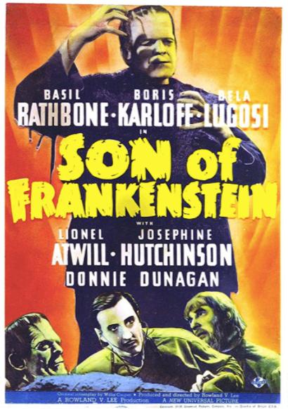 Son of Frankenstein (1939) 📽