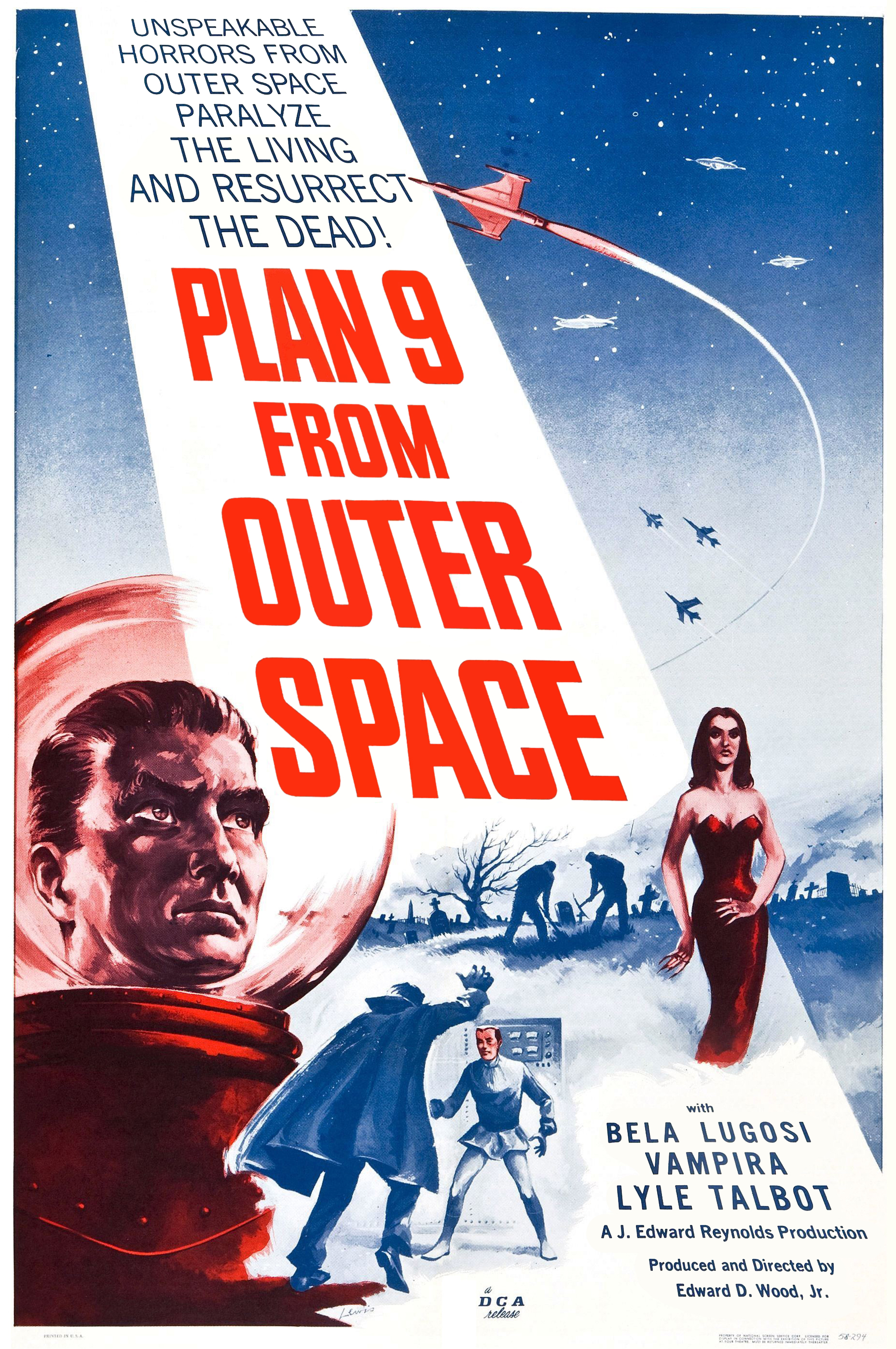 Plan 9 from Outer Space (1959) 📽
