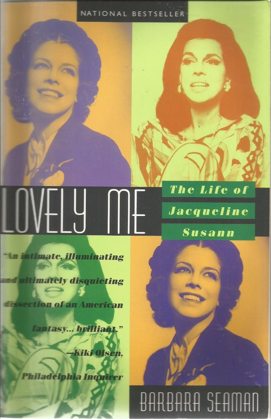 Lovely Me: The Life of Jacqueline Susann, by Barbara Seaman