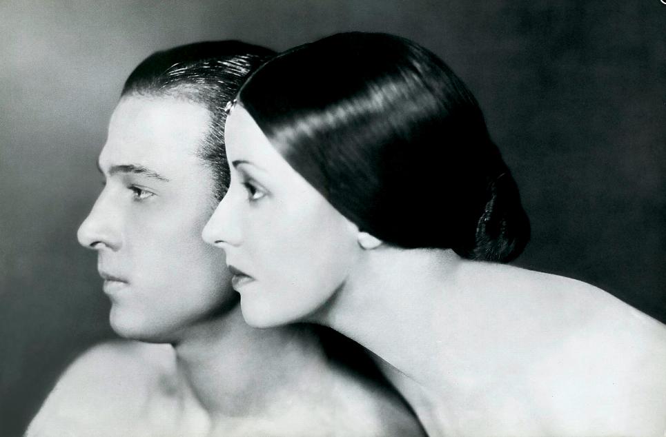 Portrait of Rudolph Valentino and Natacha Rambova, 1925