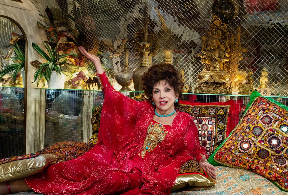 Gina Lollobrigida, 2014 | Photograph by Jonathan Becker for Vanity Fair