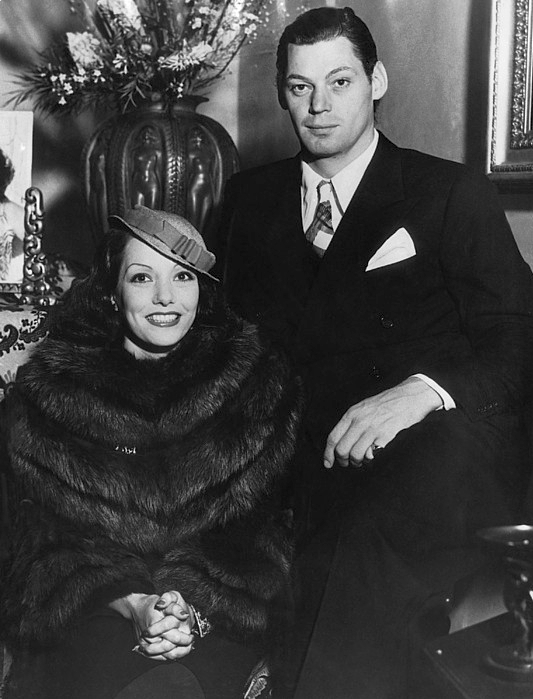 Lupe Velez with Johnny Weissmuller, 1934