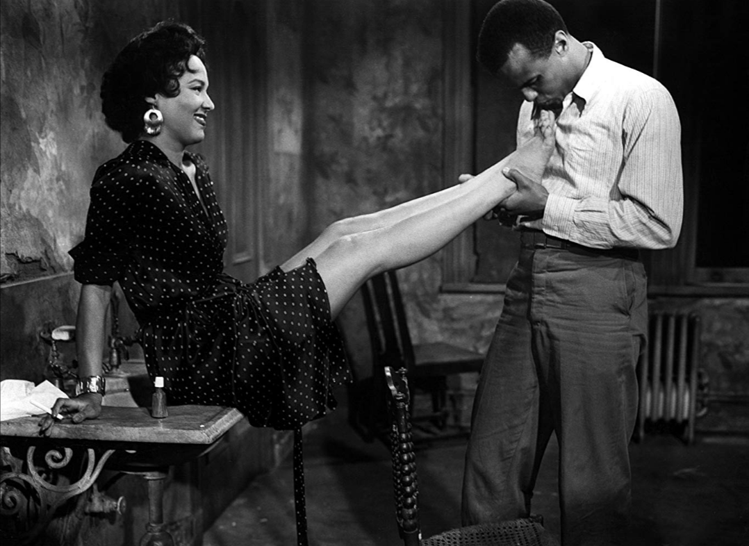 Dorothy Dandridge and Harry Belafonte in Carmen Jones (1954)