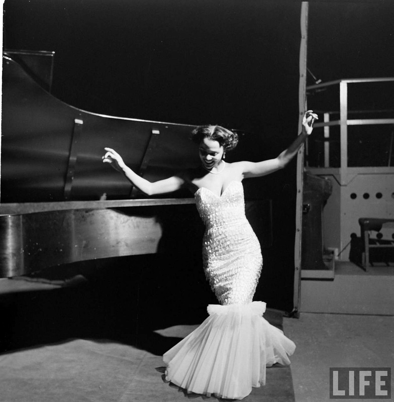 Dorothy Dandridge in LIFE Magazine 1954
