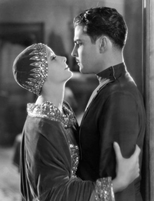 Novarro with Greta Garbo in  Mata Hari , 1931