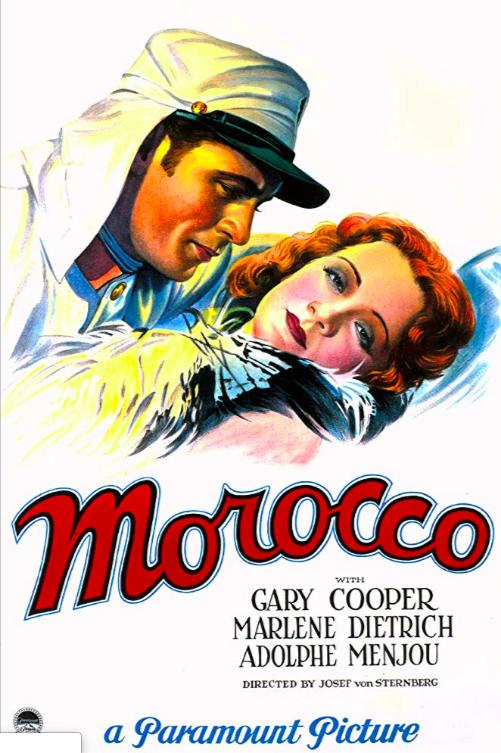 Morocco (1930) 📽🌟