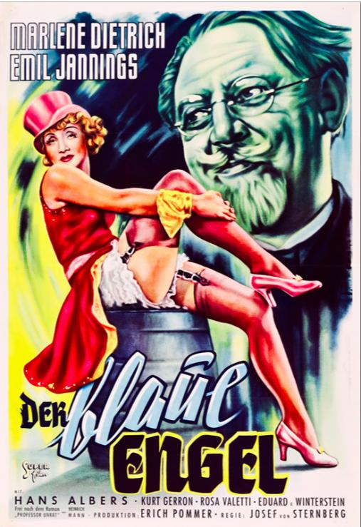 The Blue Angel (1930) 📽🌟