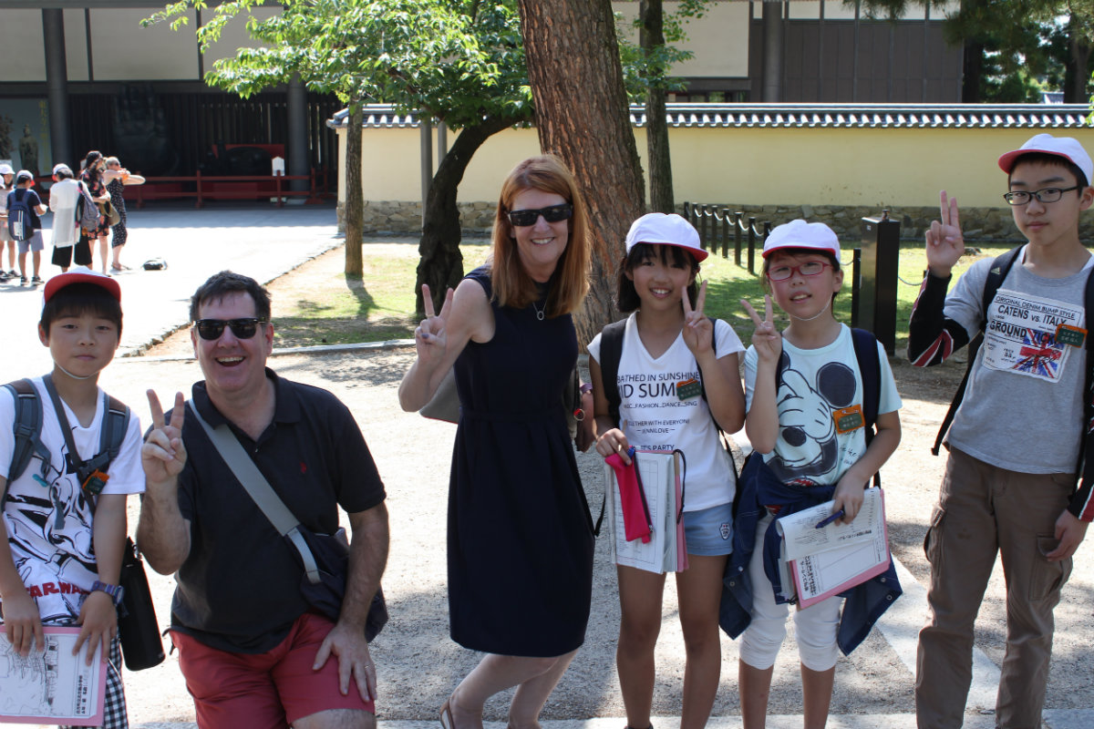 Our interviewers from Gifu.