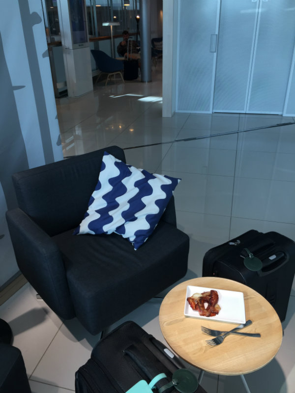 Marrimekko in the Finnair lounge