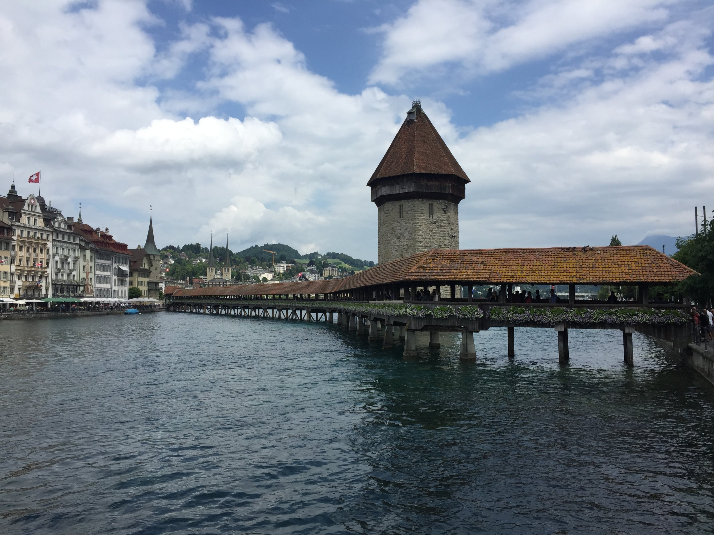 Chapel Bridge, Luzern.