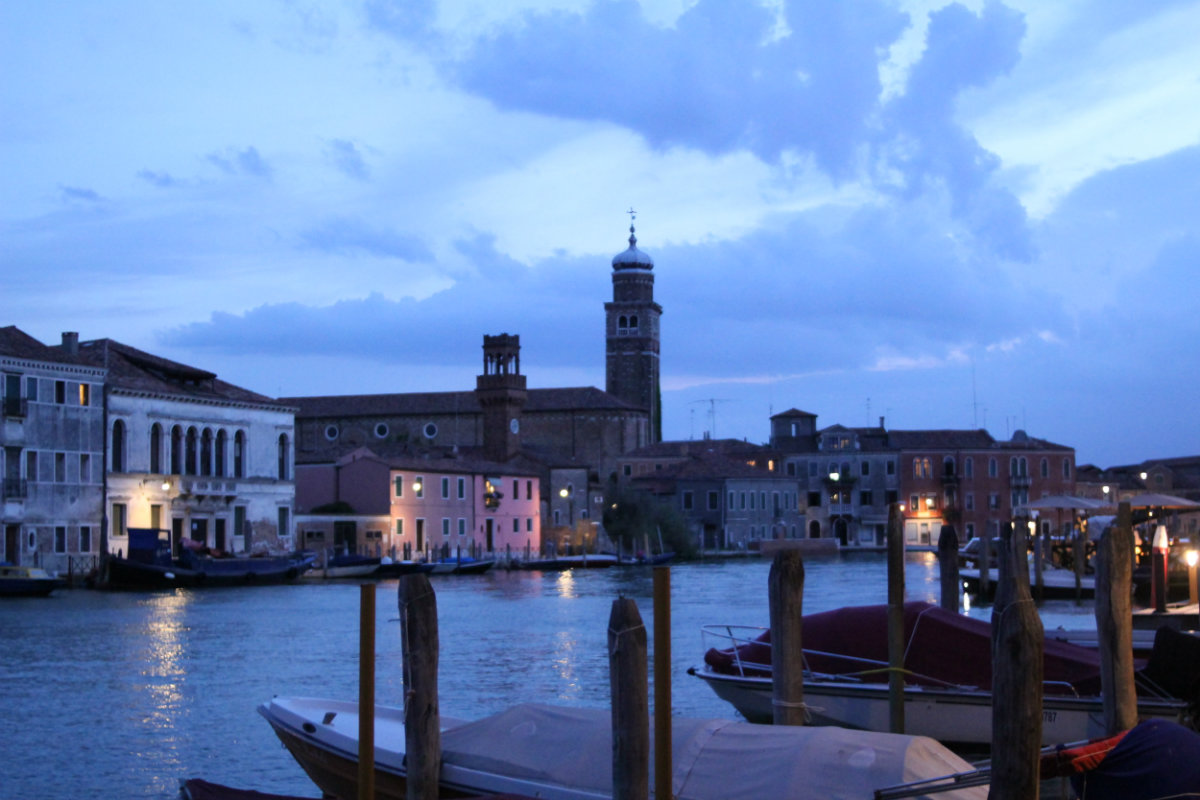 Murano in early evening