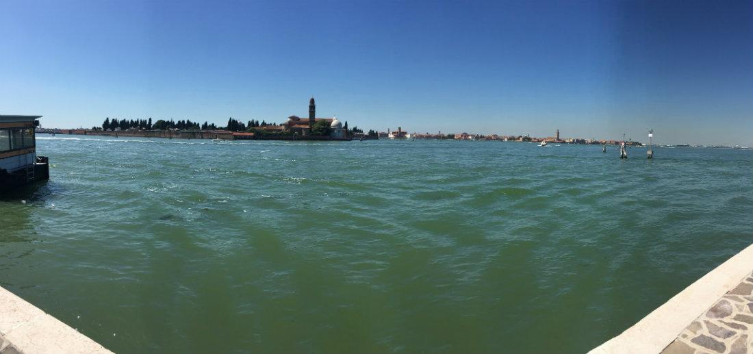Looking toward Venice from Murano