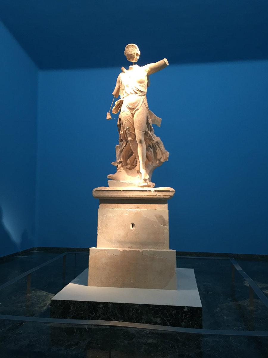 Hermes, the messenger of the gods.
