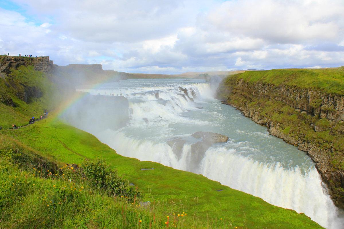 Gulfoss - the Golden Falls