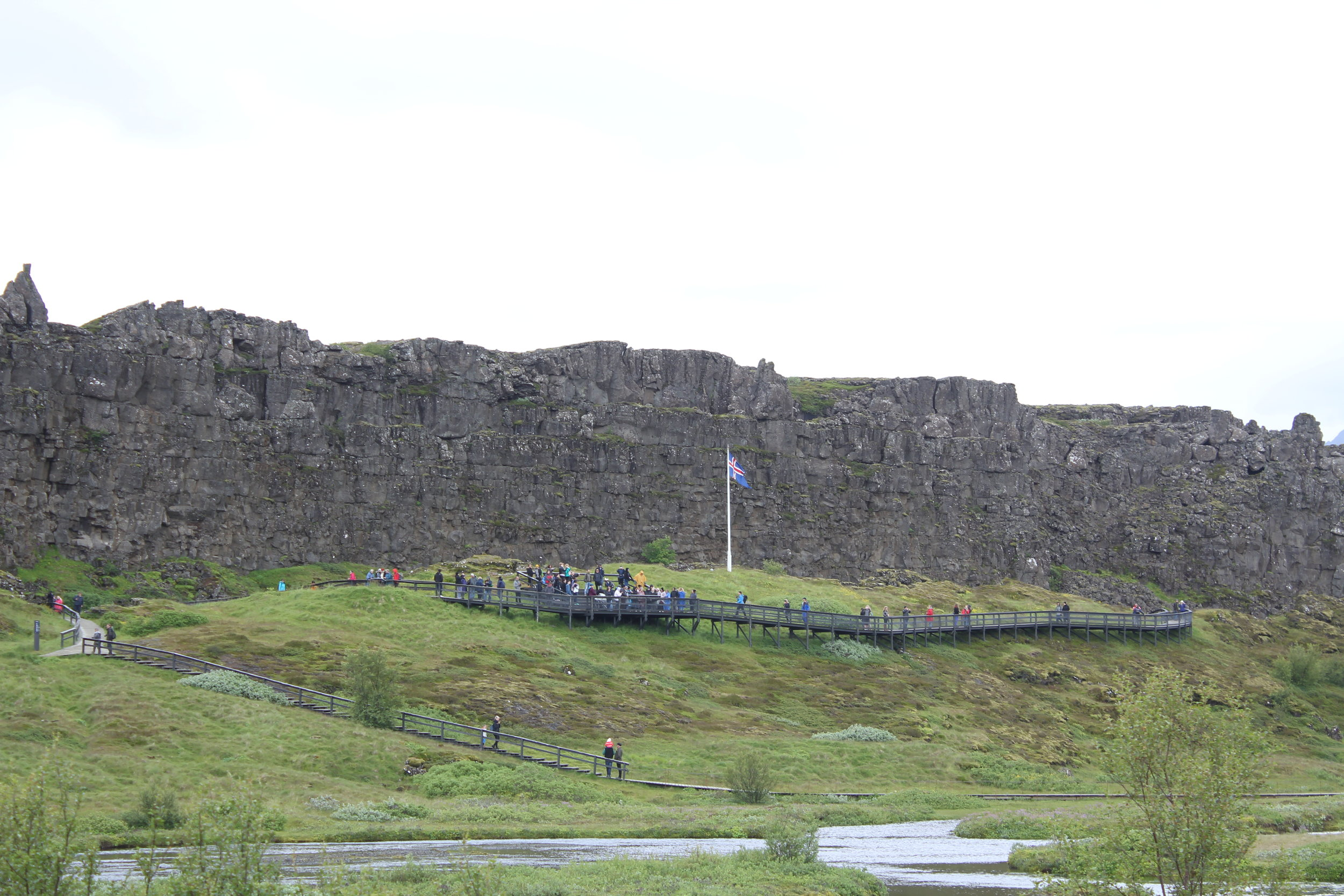 Alþingi - the site of the ancient parliament