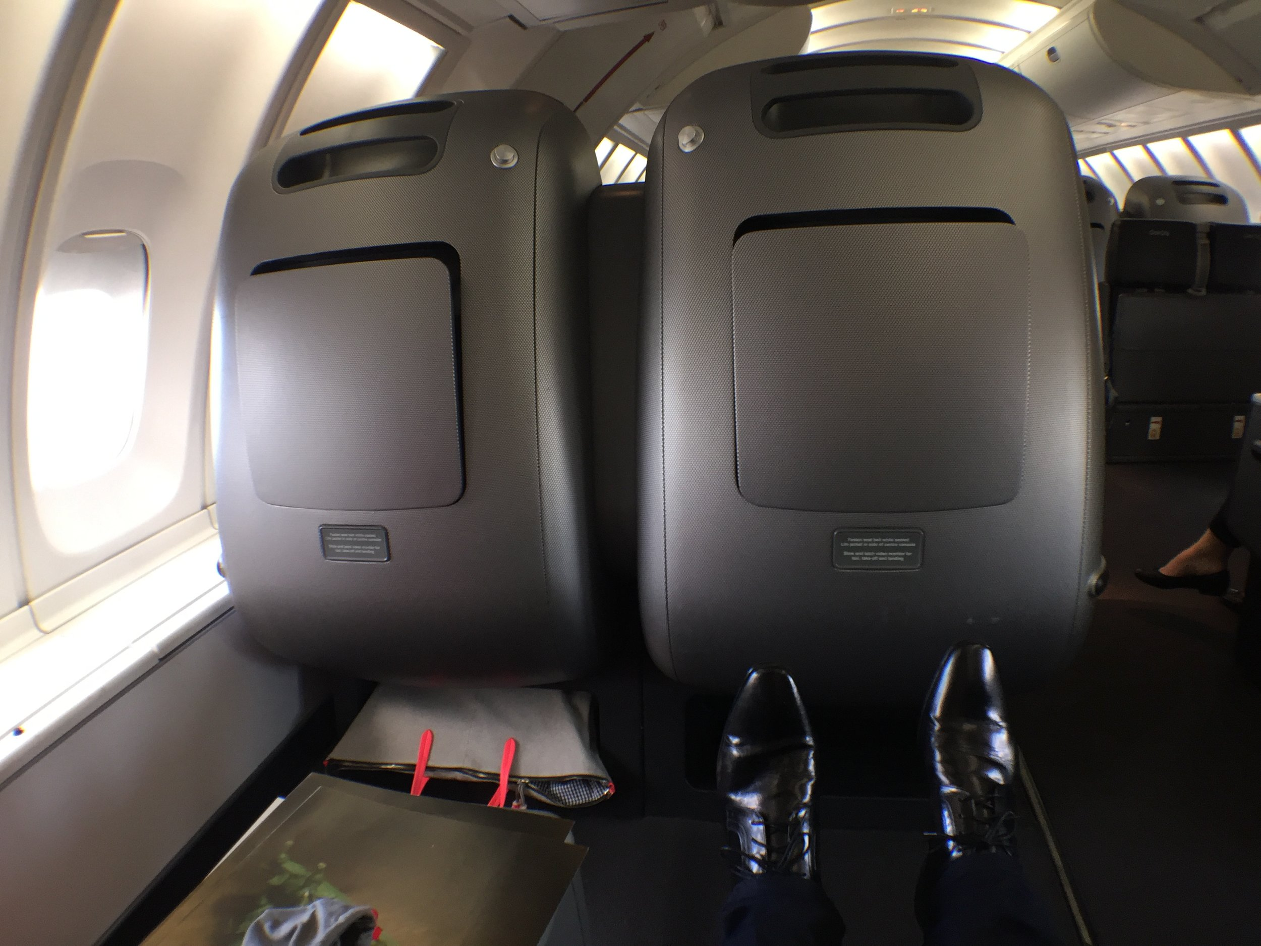 We came for the legroom...