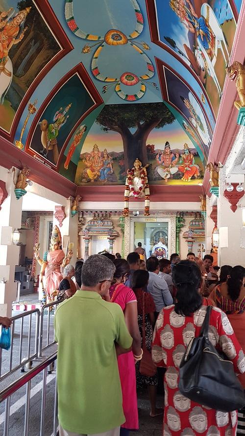 The Hindu Temple at Pagoda Street