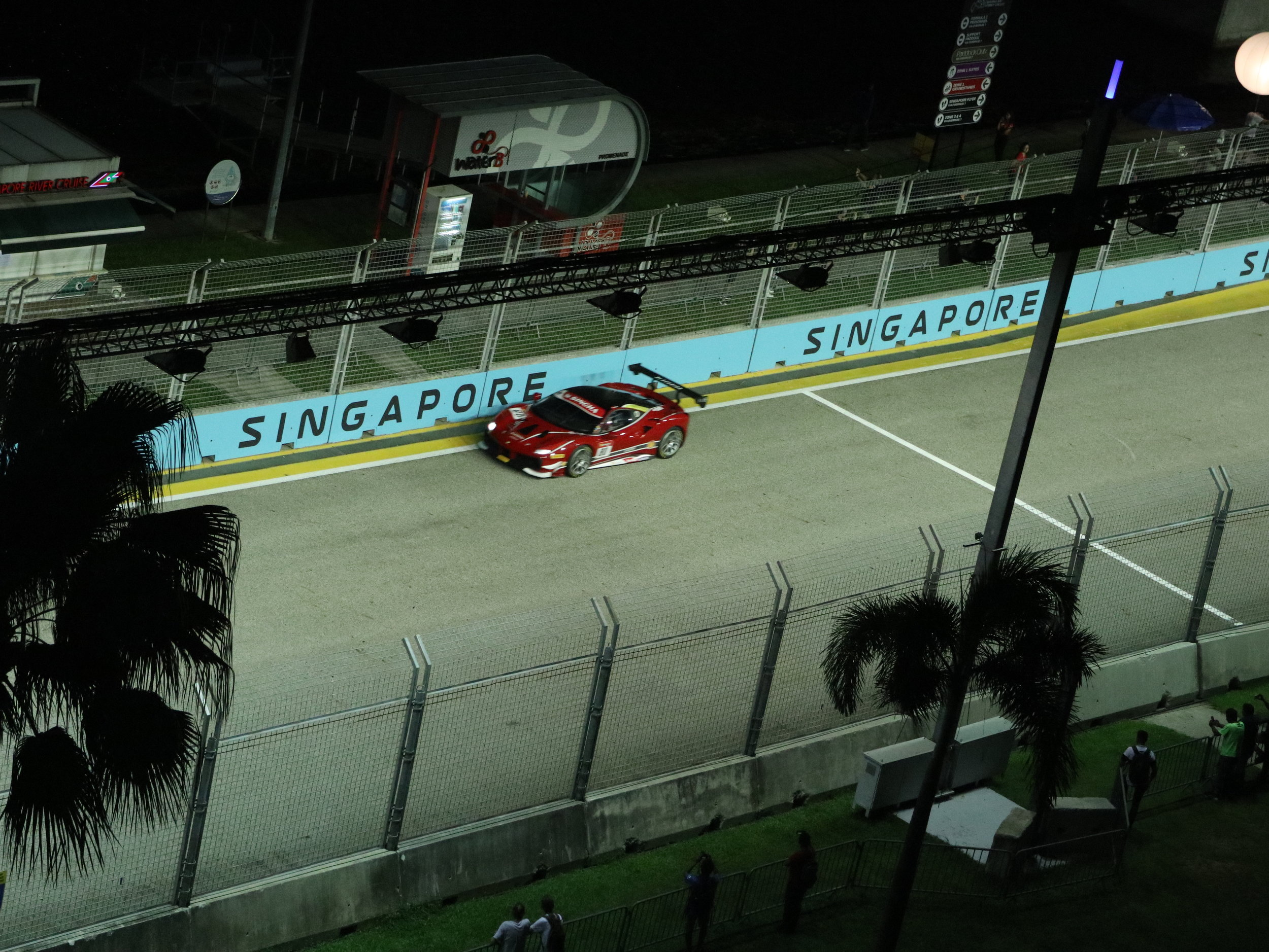 Ferrari Challenge practice session