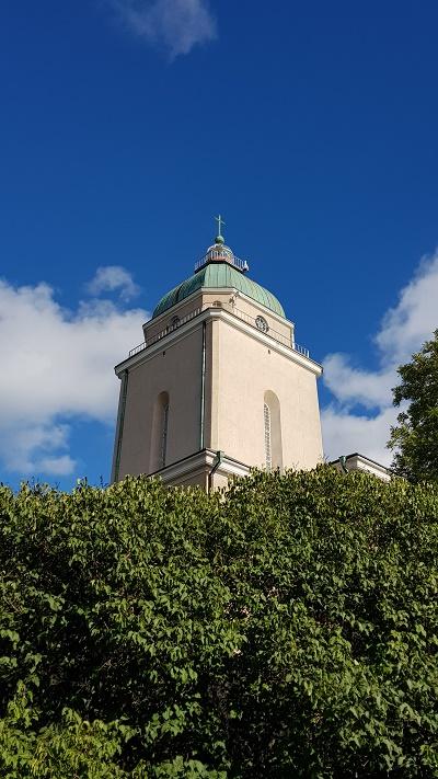 the Lutheran church-lighthouse…
