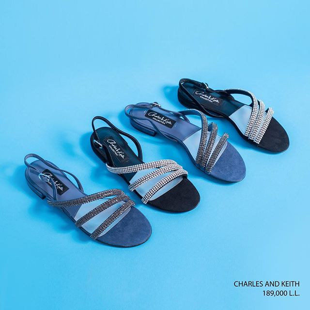 Summer essentials that are chic and comfortable: Upgrade just about any outfit with those - Available at Charles and Keith across Lebanon.