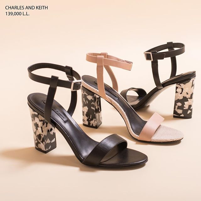 A touch of marble on those heels screams FANCY. Wear those with a classic little black dress and be the life of the party ;) - Available at Charles & Keith stores across Lebanon. (Store locator in bio)