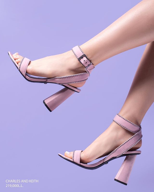 Nude: a shade that compliments any outfit, replacing black if you want to stay light and colorful. Get your own pair of gorgeous heels from Charles & Keith, in all its locations across Lebanon. (Link in bio)