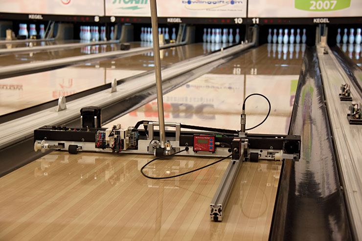 Topography Study Kegel Built For Bowling
