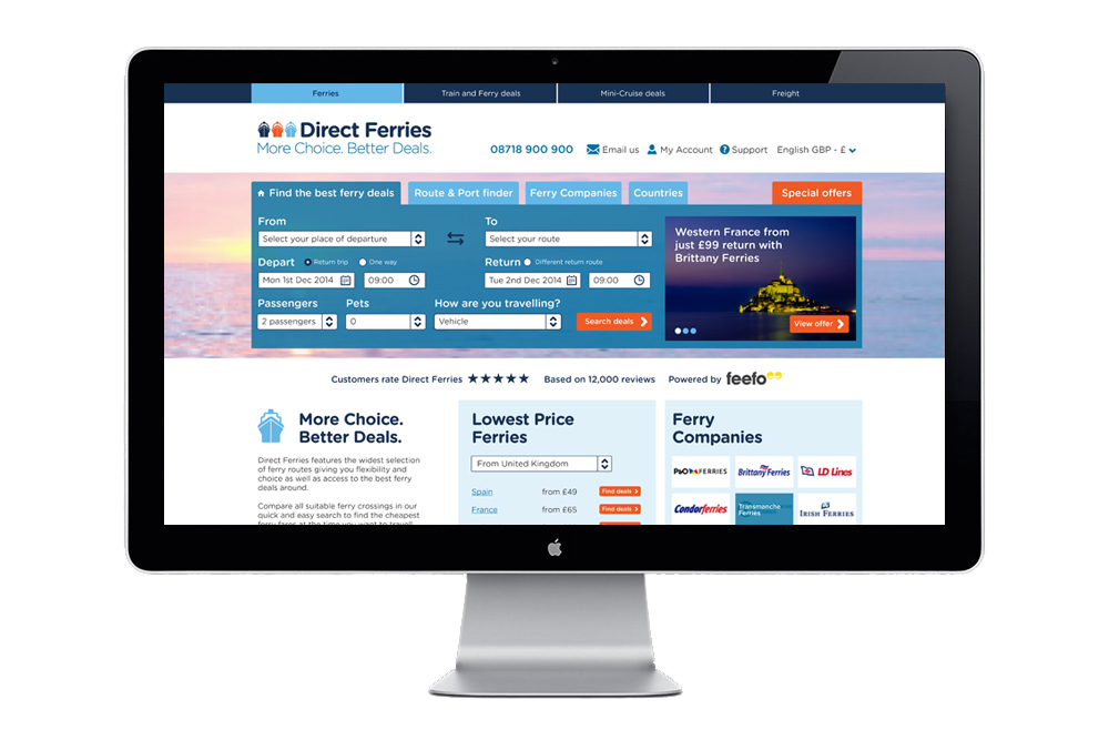 User Experience Website Design Kent