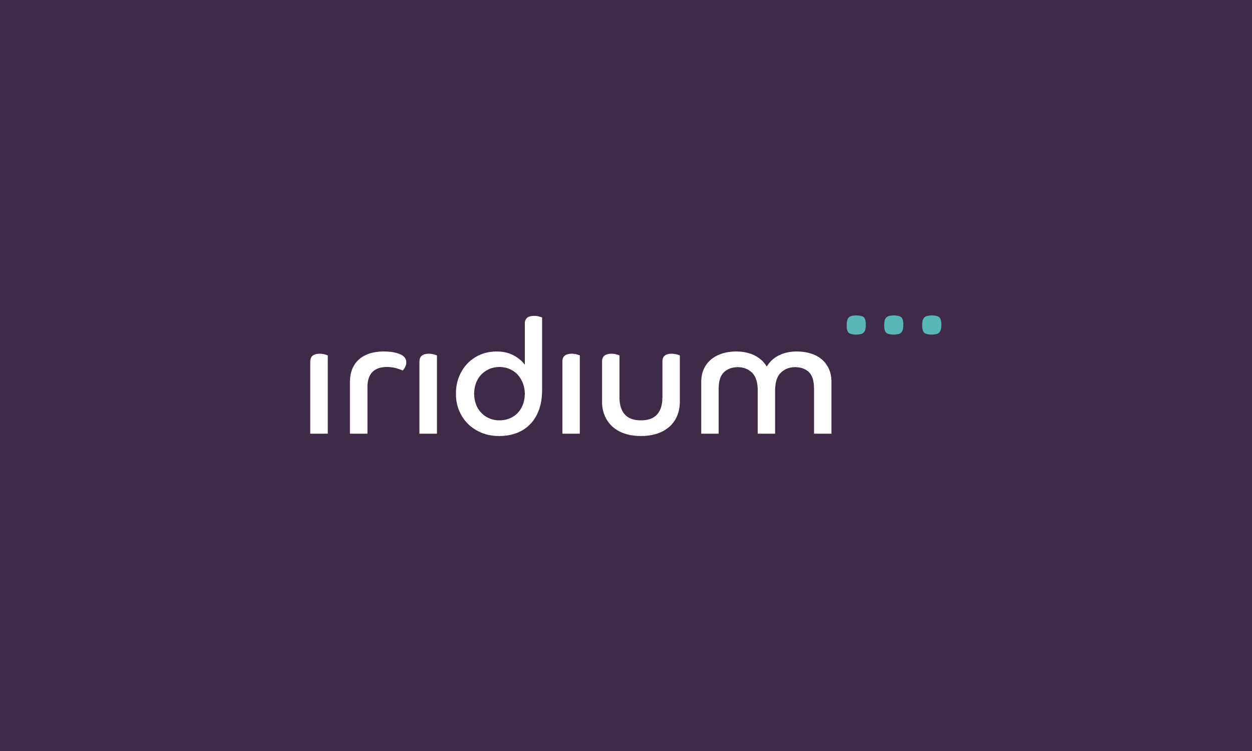 Logo Design, Brand Identity and Brand Guidelines - Iridium