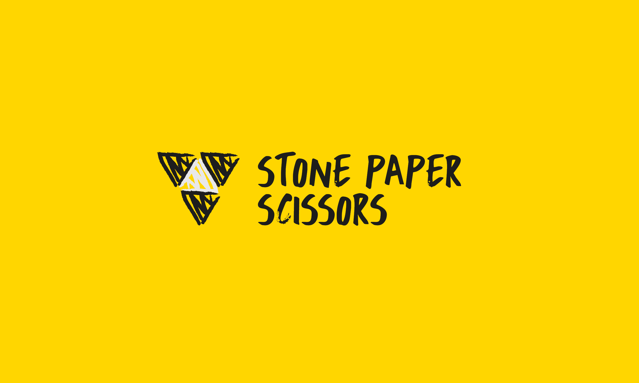 Logo Design and Brand Identity - Stone Paper Scissors