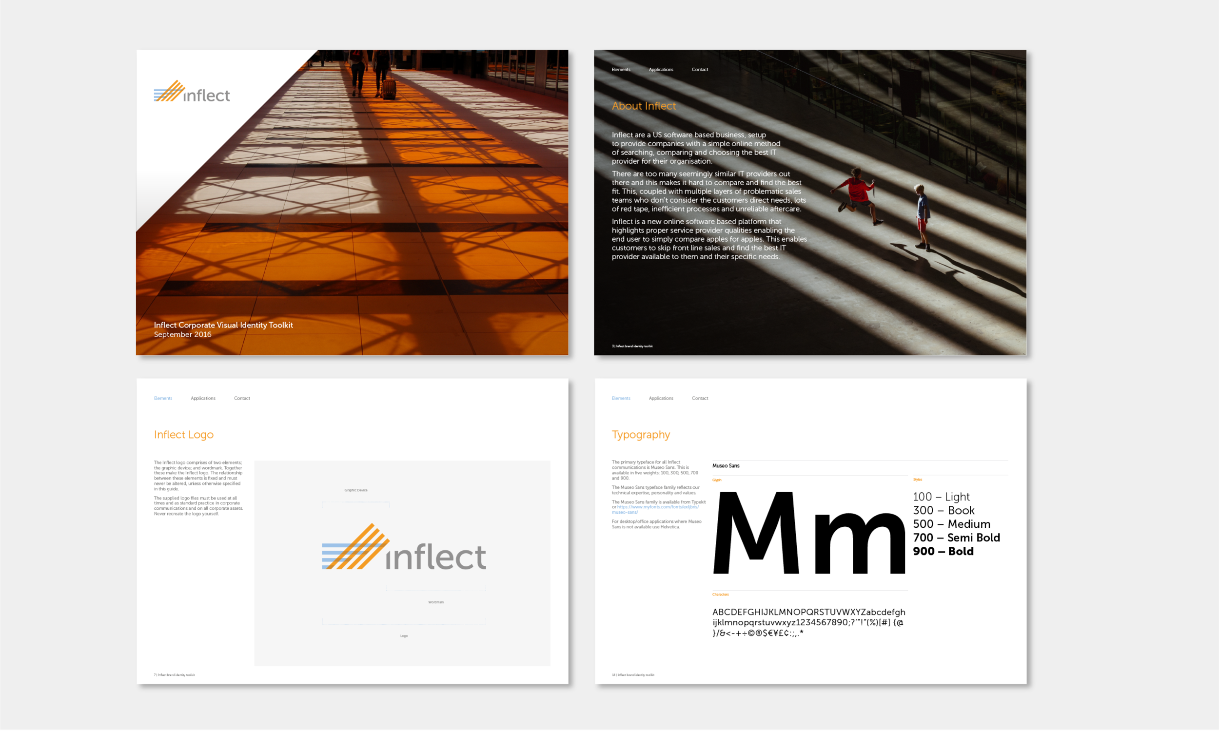 Logo Design and Brand Identity, Stationery with Branding, Kent - Inflect