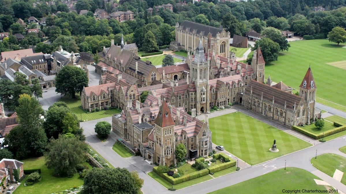 Charterhouse school nike camps aerial