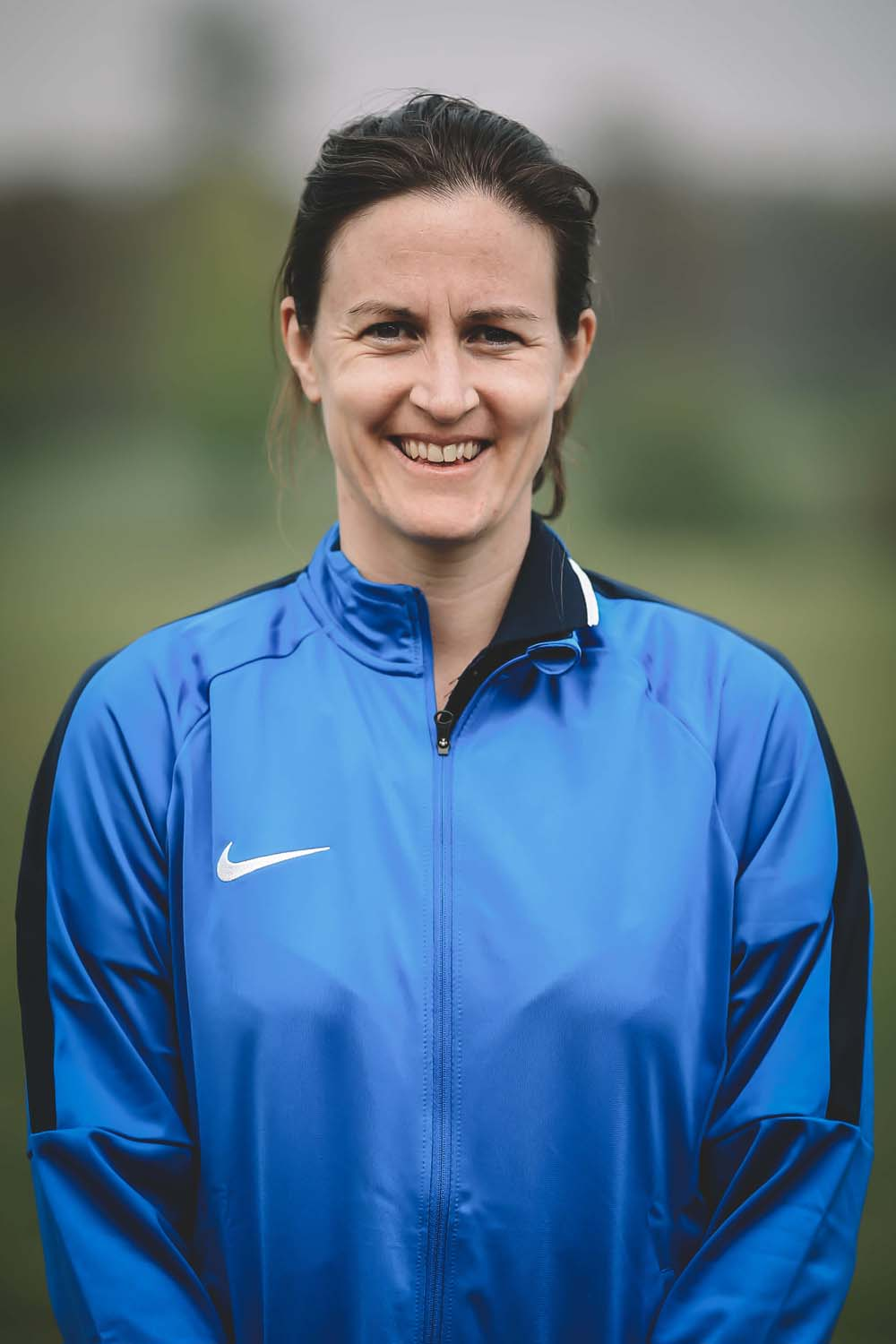Lydia Greenway head coach headshot